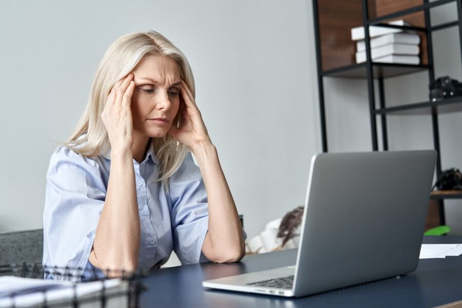 stressed-old-business-woman